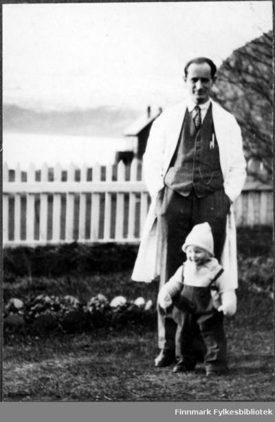Distriktslege Lund og sønnen Frithjof