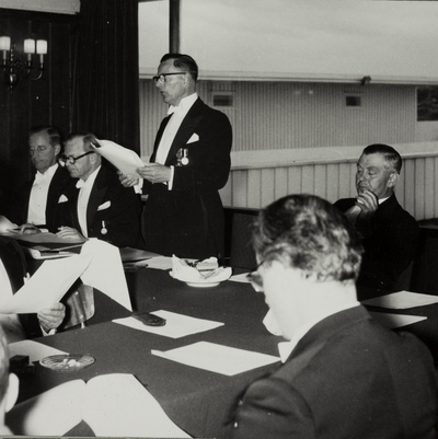 Fra generalforsamlingen 1958...