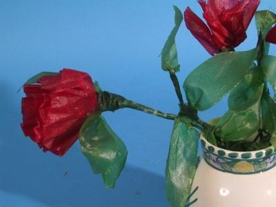 Bukett kunstige blomster