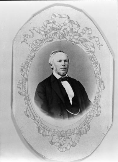 Portrett av Lensmann Even Gihle (1818-1908)