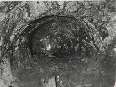 Fyrsetting i Gammelgruva på Løkken Verk