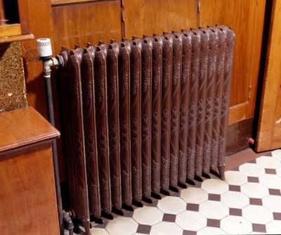 Interør med radiator