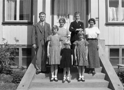 Familien Haavi på Lena