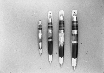 Totenkniver i ulik størrelse