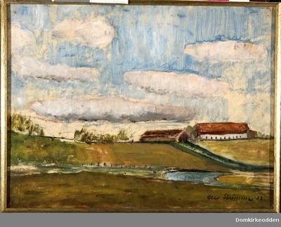 Maleri av Åker gård