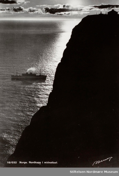 Postkort 16/032 Norge