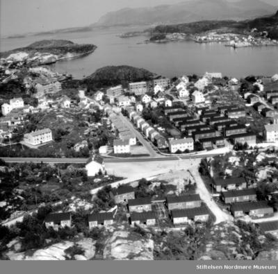 Flyfoto fra sentrum av Gomalandet