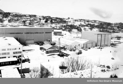 Foto fra gamle Sterkoders lokaler i Smevågen på Bremsnes i Averøy kommune