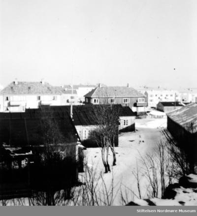 Foto fra gjenreisningsbyen Kristiansund