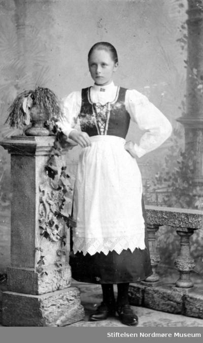 Portrett av en ukjent ung dame