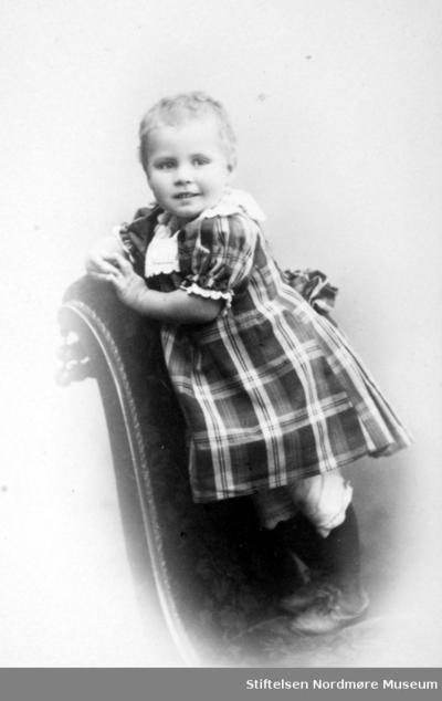 Portrett av et lite barn