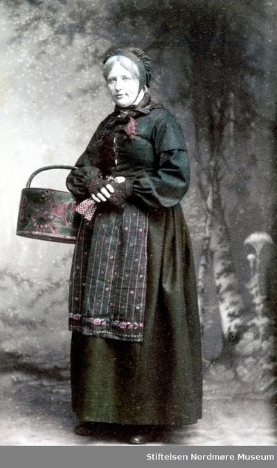 Foto av en ukjent kvinne