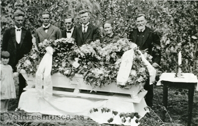 Begravelsen til Siri Olsdatter Koppervik