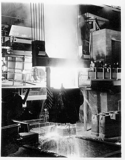 Tapping - elektrostålovn