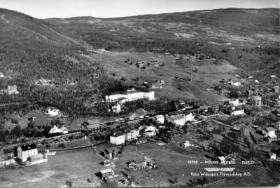 Flyfoto fra Geilo sentrum
