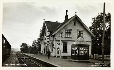 Ås stasjon på Østfoldbanen