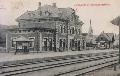 Lillehammer stasjon på Eidsvoll-Dombåsbanen