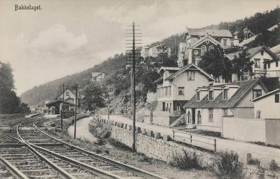 Bekkelaget med jernbanestasjonen i bakgrunnen