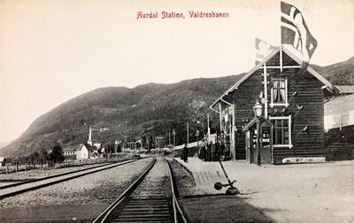Aurdal jernbanestasjon