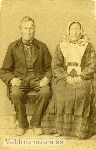 Anne Johannesdatter Lien og Ola Dokken