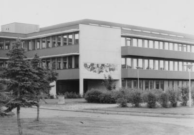 Bjertnes videregående skole åpnet på 70-tallet