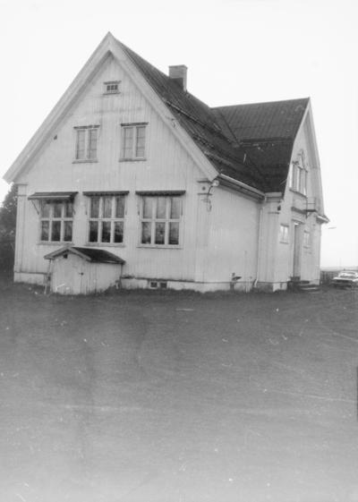 Holm skole i november 1987