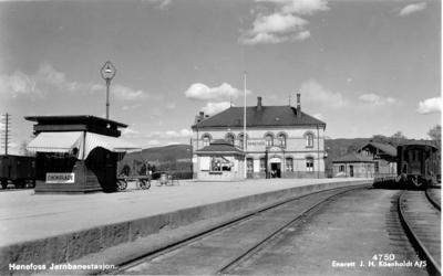 Hønefoss jernbanestasjon