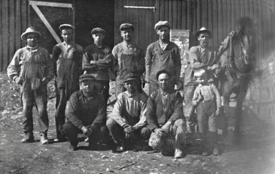 Bøverbru kalkverk ca. 1930