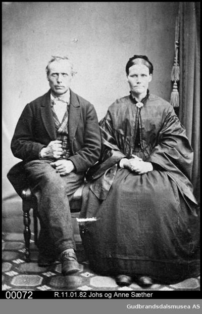 Johs og Anne Sæther