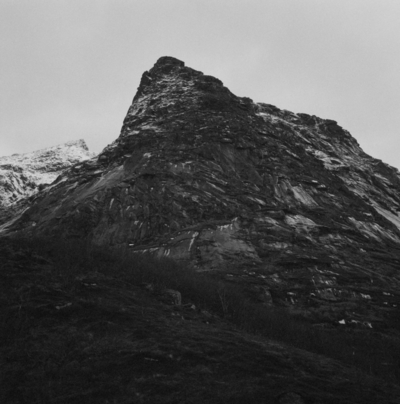 The ideal state (A mountain somewhere in Lofoten)