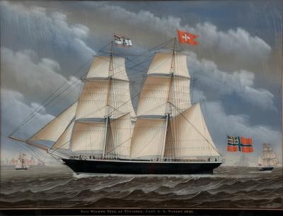 Brigg 'Wilhelm Tell' af Tønsberg