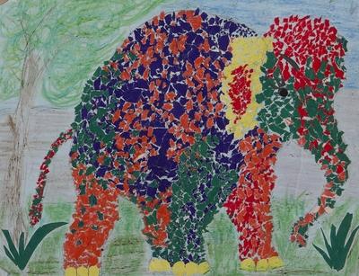 A tameful elephant