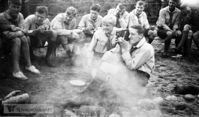 Speiderleir på Åndalsnes 1928