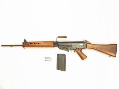 Selvladegevær 7,62mm Belgisk FN M51