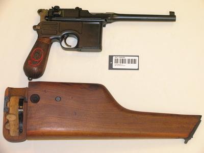 Pistol 9mm Mauser M1912