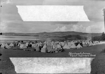 Oversikt over Speiderleir på Inderøy