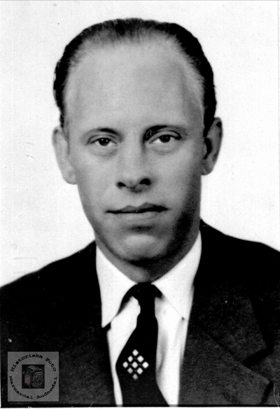 Portrett av Sverre Bue
