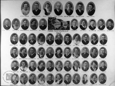 Marnar Folkehøgskole 1934-1935