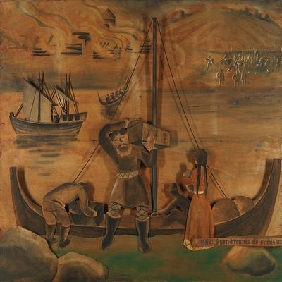 1567: Byen brennes av svenskene