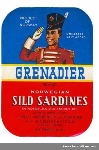 Etikett Grenadier