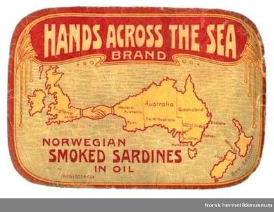 Etikett Hands across the Sea
