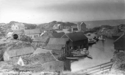 Frå Værøyhamn, Værlandet
