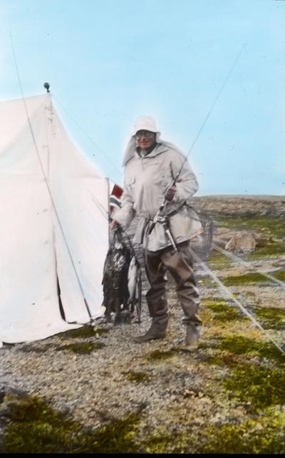 Fra foredragsrekken Landmålerlivet i Finnmark v/Axel Printz : Fisk fra Mokkejavrre