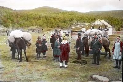 Fra foredragsrekken Landmålerlivet i Finnmark v/Axel Printz : Oppbrudd fra i Sirma