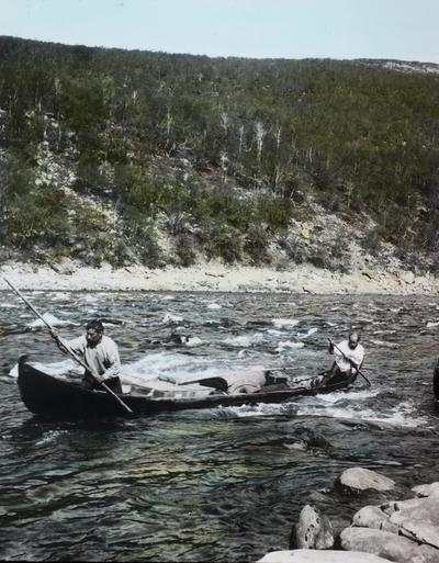 Fra foredragsrekken Landmålerlivet i Finnmark v/Axel Printz : Utover stryket