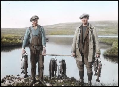 Fra foredragsrekken Landmålerlivet i Finnmark v/Axel Printz : Dagens fiskefangst