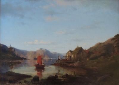 Fjordparti fra Vestlandet