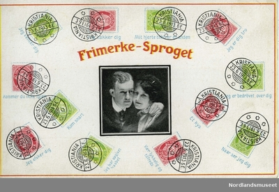 Frimerke-Sproget