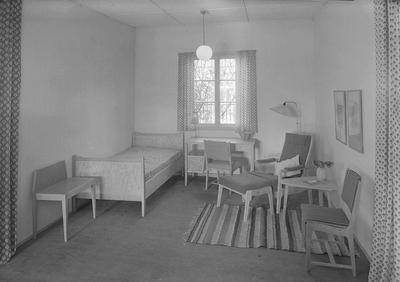 (Hotel)møbelutstilling i Kongsgården. Møbelhuset i Bergen