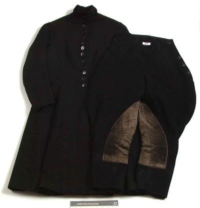 Drakt, ridedrakt, jakke og bukse